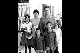 1958. La familia Carretero al completo.