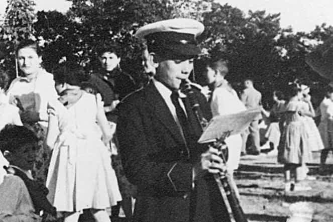 1953. Pedro Mañeru Belda, padre de Ana Mañeru.