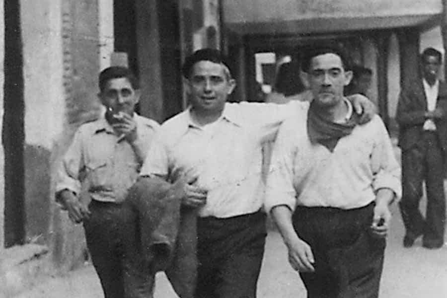 1944. Martín Mañeru y Máximo Villar