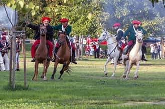 La campa de Los Llanos se convirtió en campo abierto para los enfrentamientos.