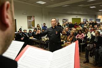 El Coro de Voces Graves de Pamplona volvió a actuar este año.