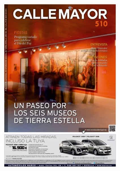 CALLE MAYOR 510 – UN PASEO POR LOS SEIS MUSEOS DE TIERRA ESTELLA