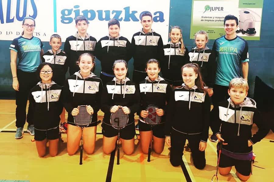 El Club Bádminton Estella comenzó la temporada