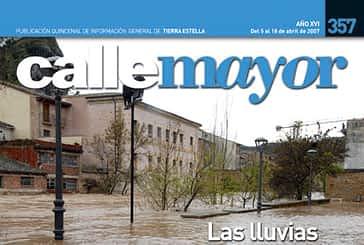 CALLE MAYOR 357 - LAS LLUVIAS DESBORDARON EL CAUCE DEL EGA
