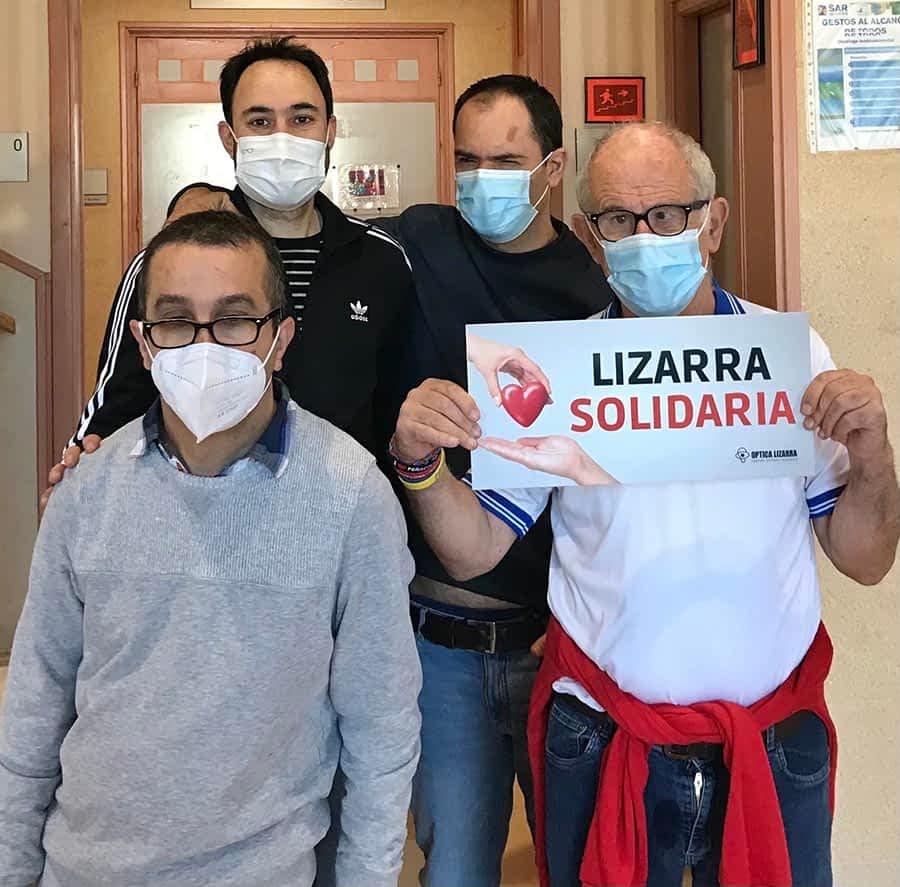 Óptica Lizarra continúa con sus acciones solidarias