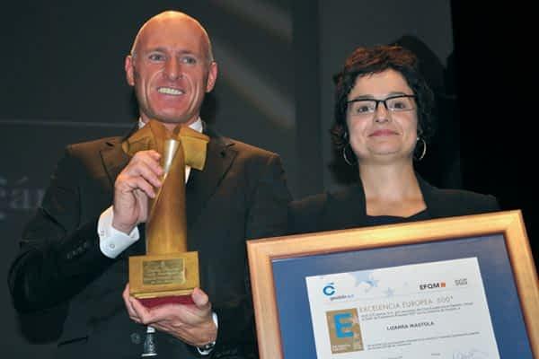 Lizarra Ikastola recibe el Sello de Excelencia Europea 55+ Oro y el Premio Navarro de la Excelencia Profesional