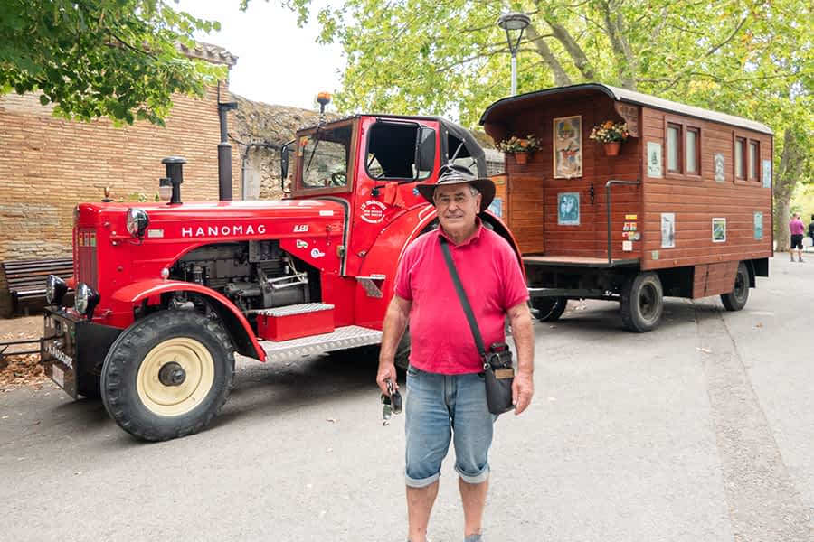 Manolo Iparaguirre Etxazarra. 77 años. Aranarache.