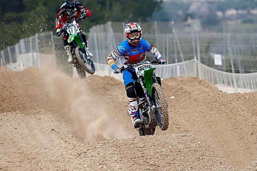Valentín inicia el Campeonato de España de Motocross, este año en Elite MX-1