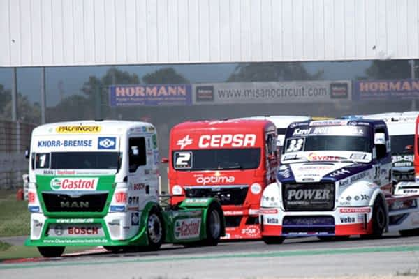 El Circuito de Navarra acoge el Campeonato de Europa de Camiones