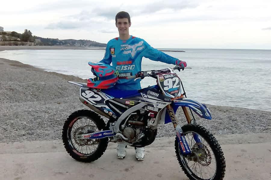 Valentín participará en el Motocross de las Naciones
