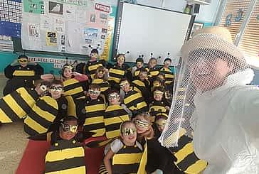 Alegría, diversión y color en los centros escolares