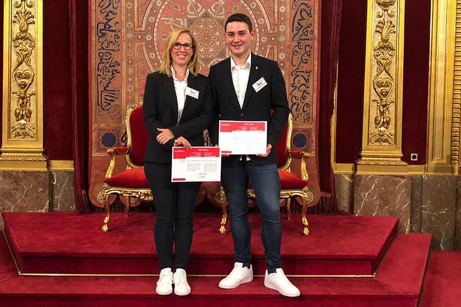 Francisco Javier Casanellas, reconocido por su participación en las competiciones Skills 2019