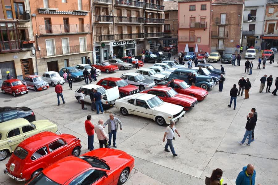 IV Concentración de coches clásicos Villa de Los Arcos