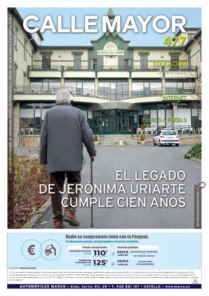 CALLE MAYOR 477 – EL LEGADO DE JERÓNIMA URIARTE CUMPLE CIEN AÑOS