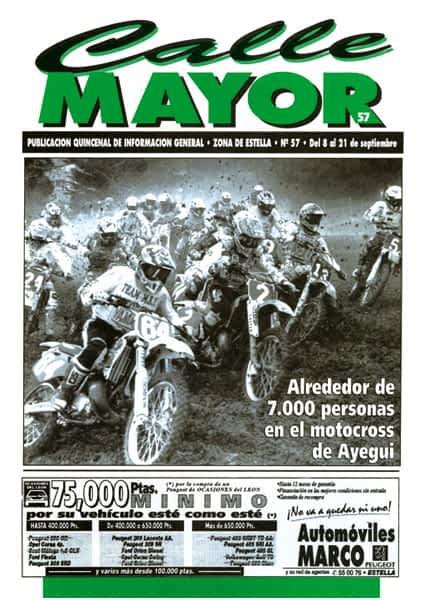 CALLE MAYOR 057 – ALREDEDOR DE 7.000 PERSONAS EN EL MOTOCROSS DE AYEGUI