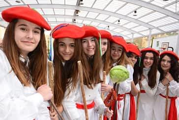 El 'Carnaval de  los Palokis' llenó  de música y color Estella