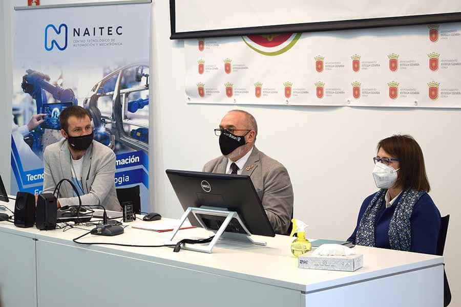 El Centro Tecnológico Naitec celebró sus diez años de presencia en Estella