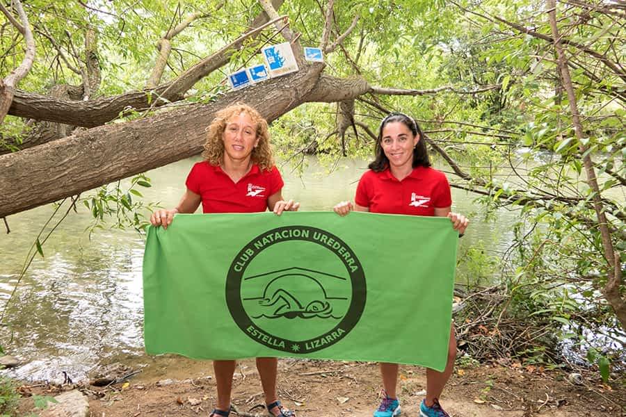 PRIMER PLANO – Arancha Ruiz de Larramendi y Eli Peña, nadadoras – 'Reinas' con triple corona