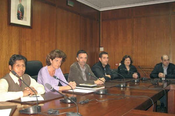 Una delegación de Perú visitó Estella para dar cuenta de un proyecto de cooperación