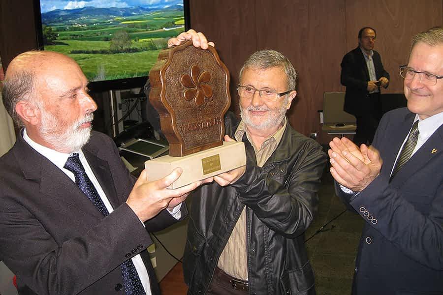 Francisco Etxeberria, Premio Irujo Etxea por su contribución a la memoria histórica