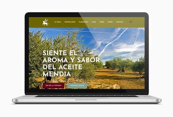 El Trujal Mendía de Arróniz estrena web y tienda online