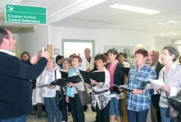 Música de coral en el Día del Enfermo