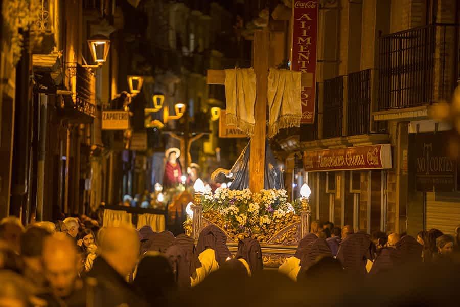 El recogimiento propio de la Semana Santa, más presente que nunca