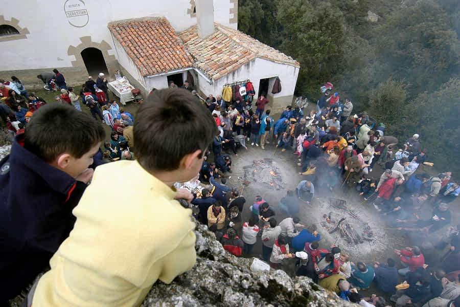 Muniáin de la Solana celebra las fiestas de San Sebastián