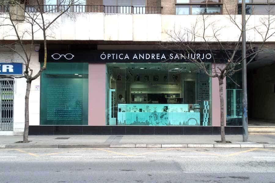 Óptica Andrea Sanjurjo abre sus puertas en Estella-Lizarra