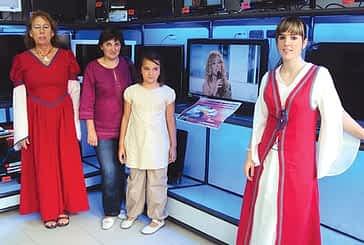 María José García gana el sorteo de un televisor de Cenor Ramón Andueza