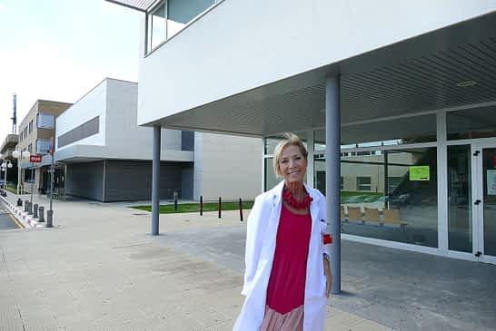 """PRIMER PLANO - Yolanda Montenegro, gerente del Área de Salud de Estella - """"El García Orcoyen necesita un plan director en cuanto a la estructura"""""""