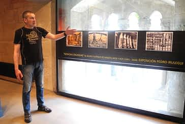 Una micro-exposición de Pedro Irulegui en el 25 aniversario de la pinacoteca municipal