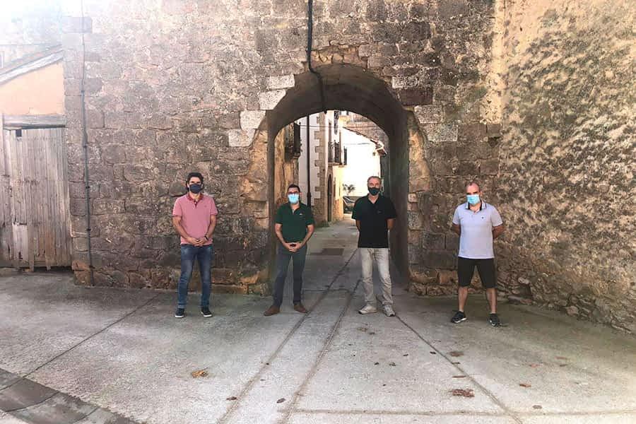La muralla medieval de Zúñiga lucirá más bella