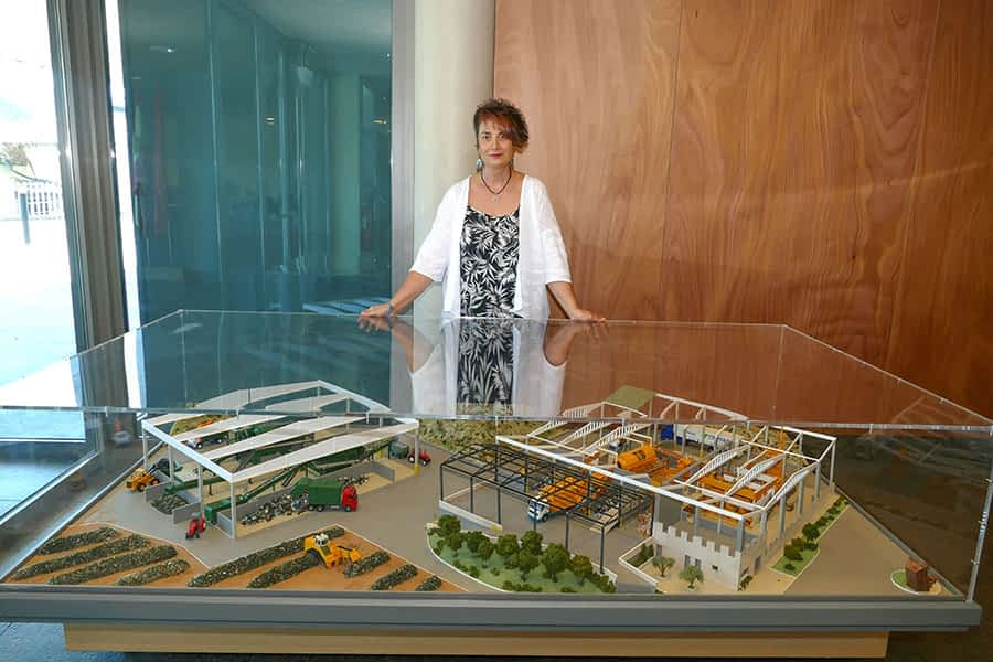 """PRIMER PLANO – Mariví Sevilla Marzo, presidenta de la Mancomunidad de Montejurra – """"Está en marcha  un proyecto educativo que recupera  las visitas a  la planta de Cárcar"""""""