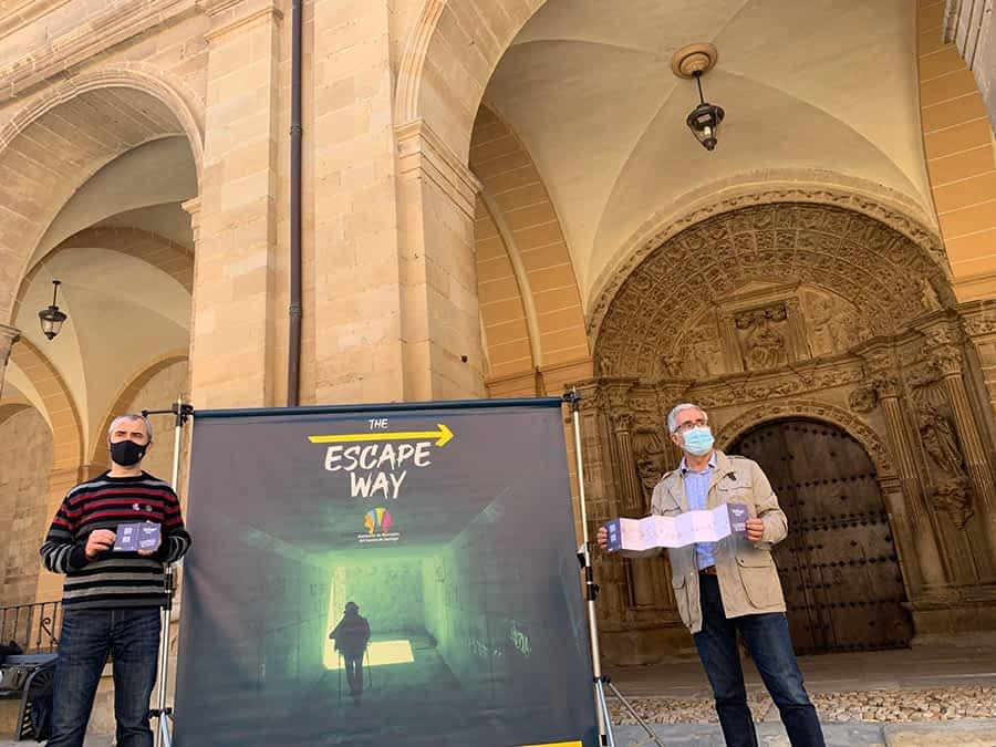 Los Arcos se suma a la iniciativa virtual sobre el Camino de Santiago 'The Escape Way'