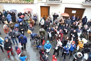 San Vicente reunió a los arqueños en torno al pan y el vino