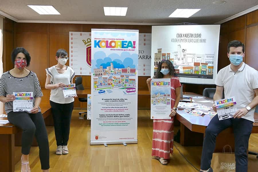 KOLOREA!, la nueva campaña que ilumina el comercio local