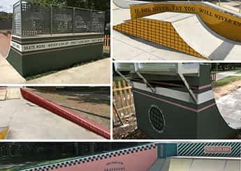 Estética californiana para el skate park