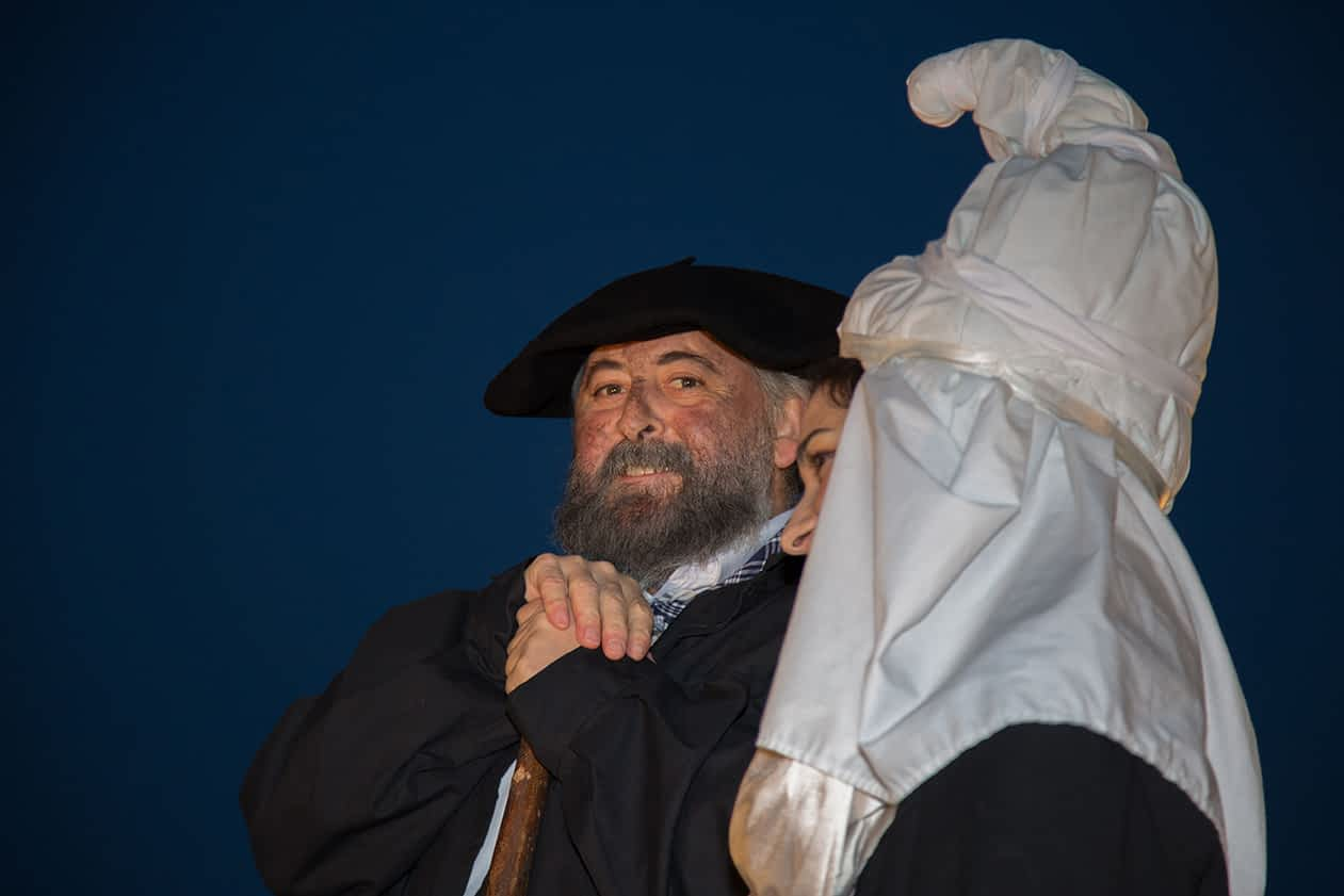 Olentzero en Estella-Lizarra
