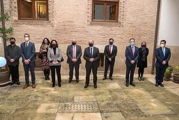 Encuentro del Ministro de Justicia con representantes del Colegio de Abogados de Estella-Lizarra