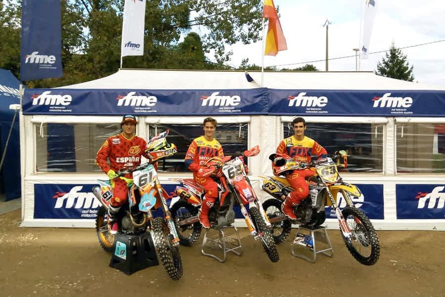 Undécimo puesto para España en el Motocross de las Naciones con la participación de Ander Valentín