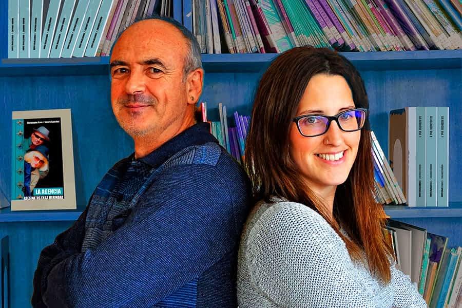 Christophe Caro y Naiara Sánchez publican 'La Agencia. Asesinatos en la merindad'