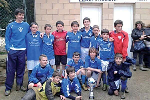 El equipo anfitrión vence en el Campeonato Futbol 8 de Lerín