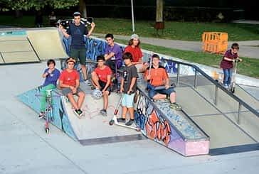 Jóvenes skaters solicitan una ampliación de la pista de Los Llanos