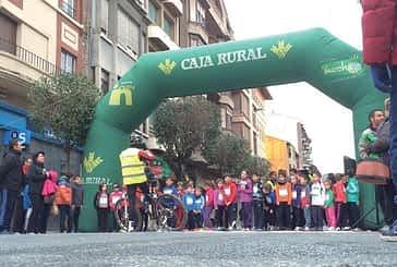 La II San Silvestre de Estella reunió a 331 corredores en ocho categorías