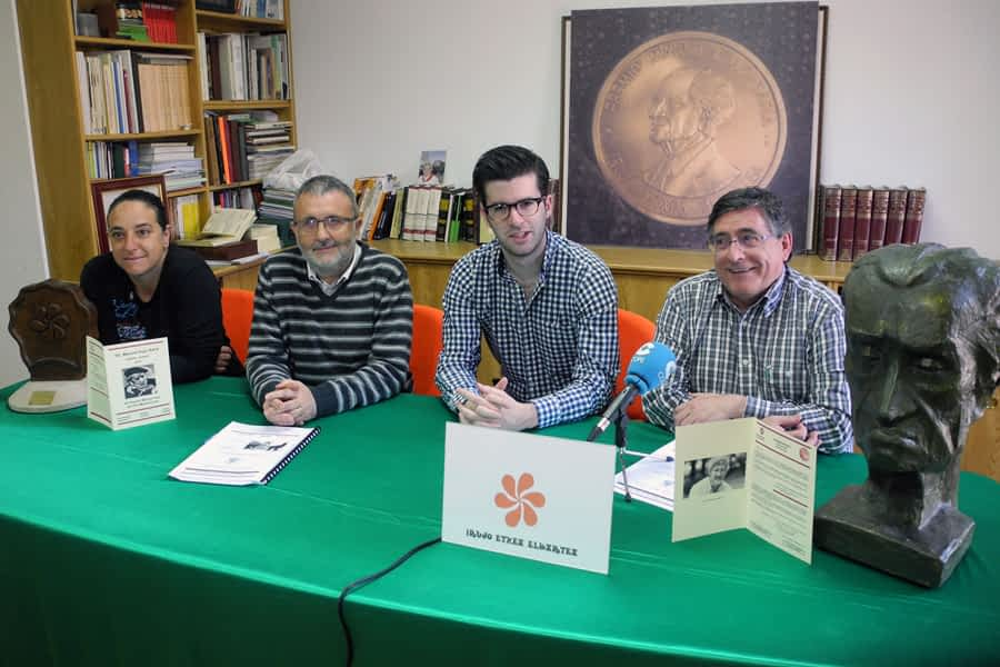 El historiador Josu Chueca recogerá el XV Premio Manuel Irujo