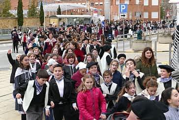 Las calles recibieron los cantos de Santa Águeda