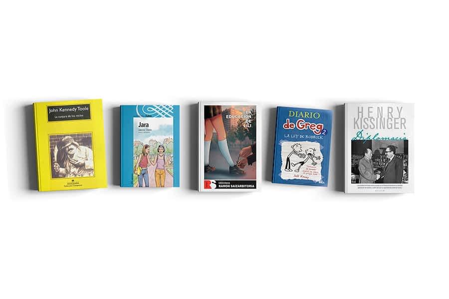 Cinco recomendaciones de lectura con motivo del Día del Libro