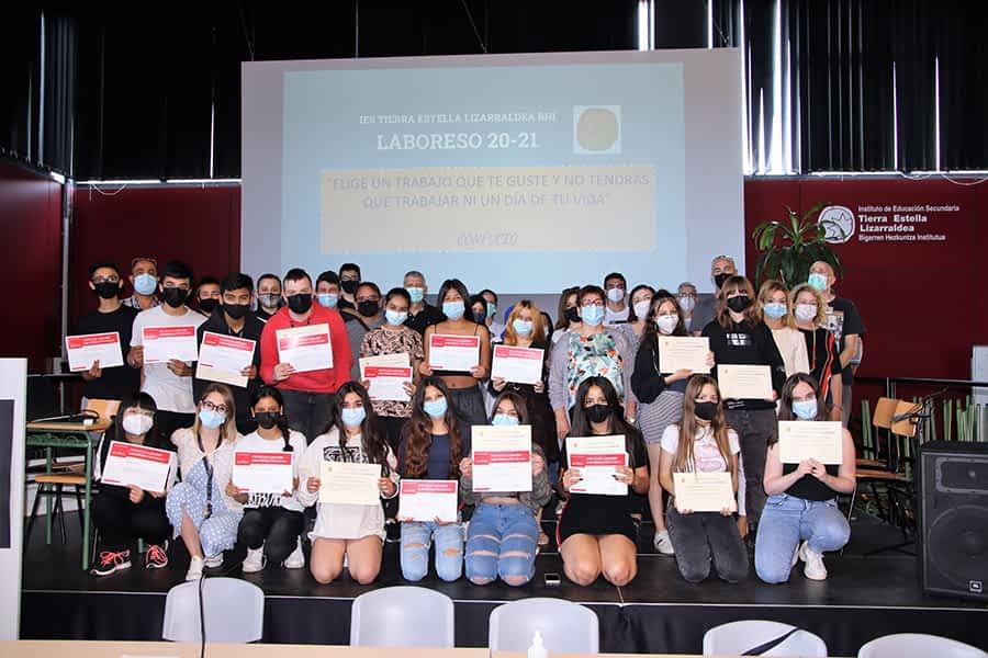 Entregados los diplomas LaborESO de este curso