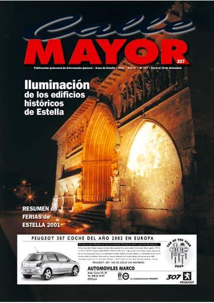 CALLE MAYOR 227 – ILUMINACIÓN DE LOS EDIFICIOS HISTÓRICOS DE ESTELLA